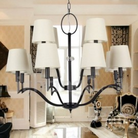12 Light Modern / Contemporary Living Room Dining Room Bedroom Candle Style Chandelier