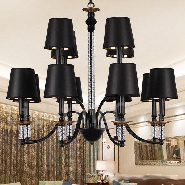 Black Light Hotel: 12 Light Hotel Black Living Room Bedroom Dining Room Retro