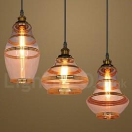 Bar Dining Room Lounge European Glass Pendant Light Lamp