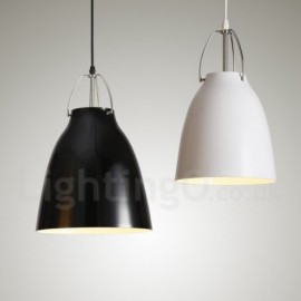 1 Light Modern/ Contemporary Aluminum alloy Pendant Light with Aluminum alloy Shade