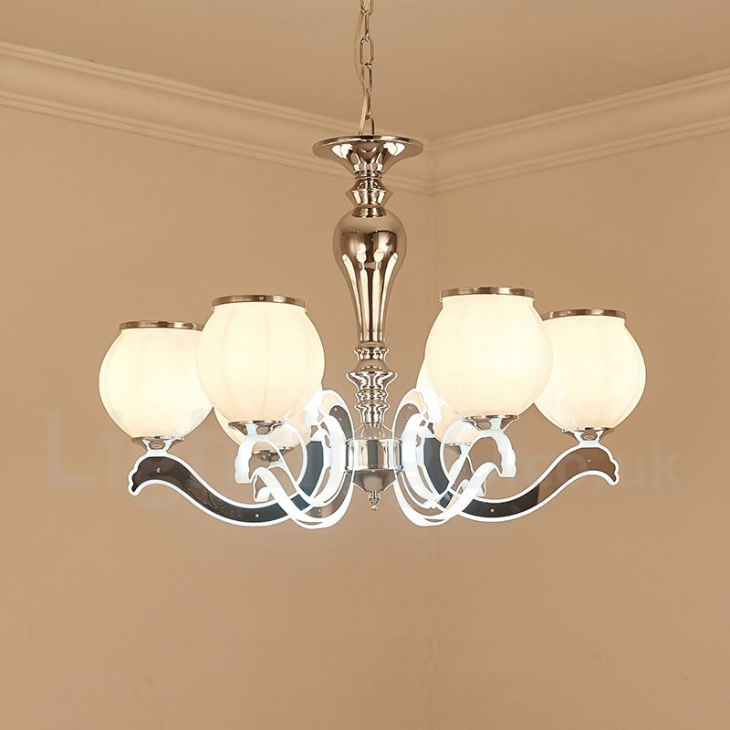6 Light Modern / Contemporary Luxury LED Pendant Lamp