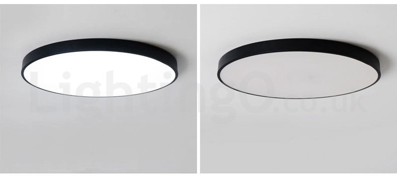Ultra thin dimmable led modern contemporary nordic style flush dimmable modern contemporary nordic style flush mount ceiling lights with acrylic shade for bathroom aloadofball Choice Image