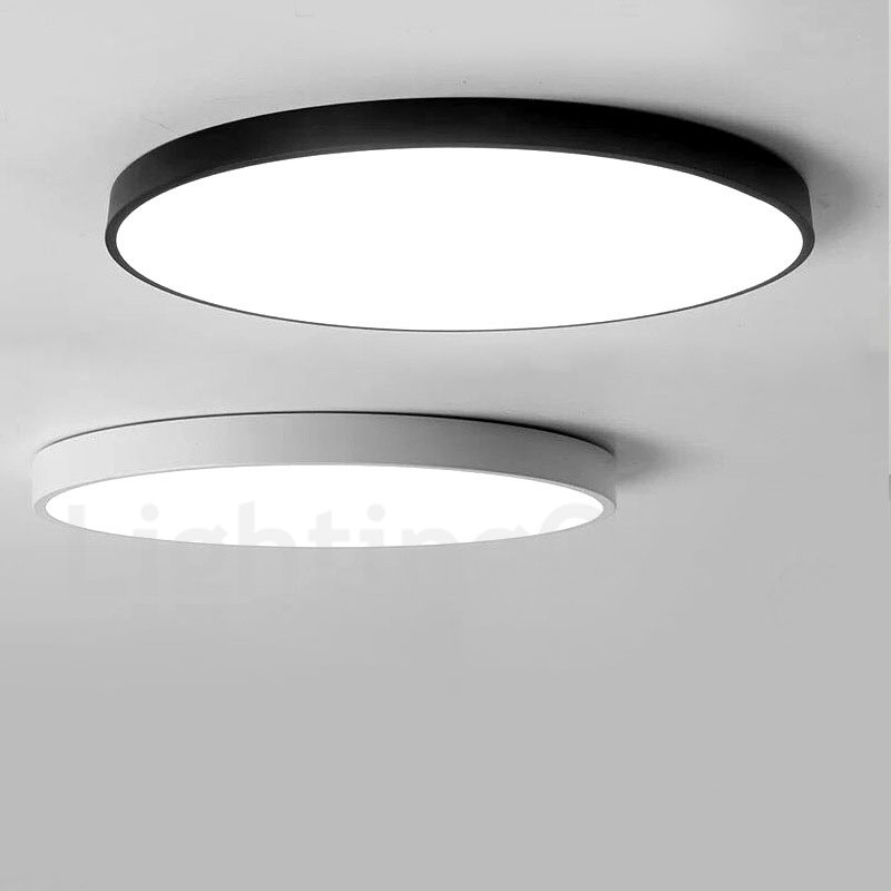 Ultra thin dimmable led modern contemporary nordic style - Flush mount bathroom ceiling lights ...