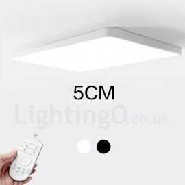 Dimmable LED Modern / Contemporary Nordic Style Flush Mount Ceiling Lights with Acrylic Shade for Bathroom, Living Room, Study,
