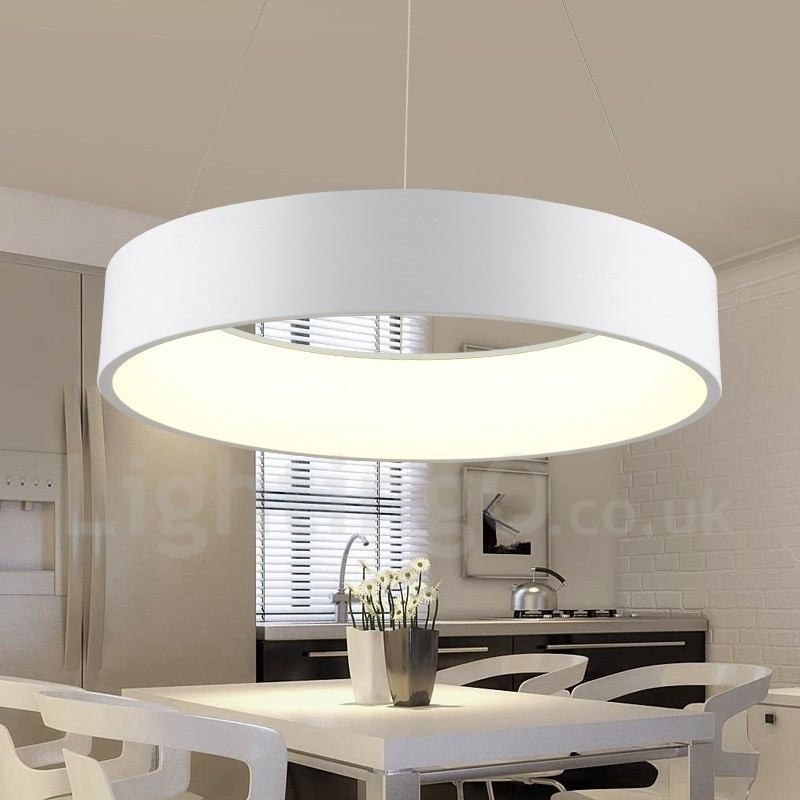 Dimmable led modern contemporary nordic style pendant for Contemporary bathroom ceiling lights