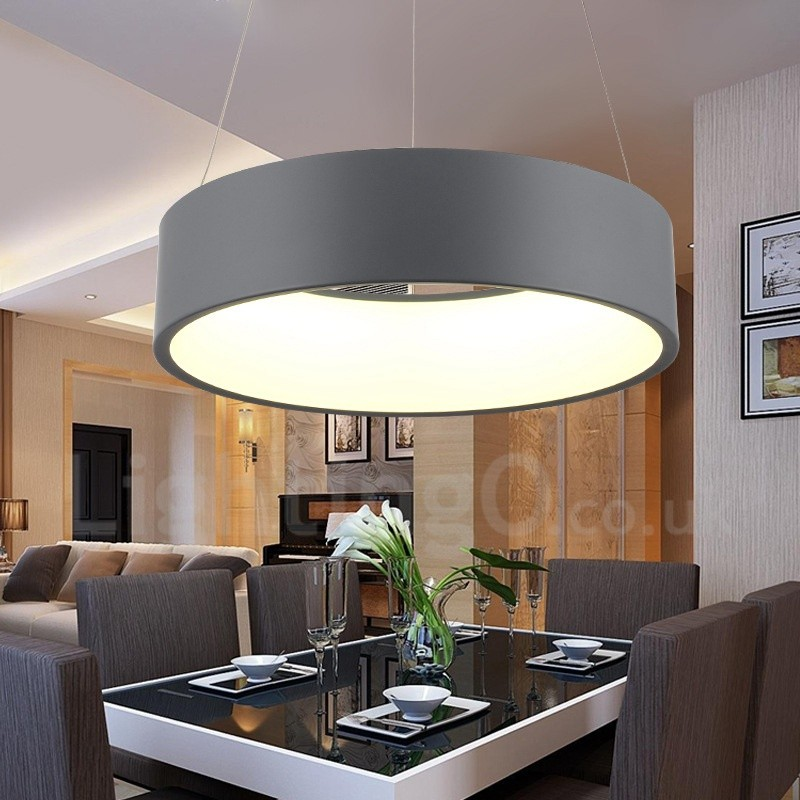 Dimmable LED Modern Contemporary Nordic Style Pendant Ceiling Lights With Remote Control For Bathroom