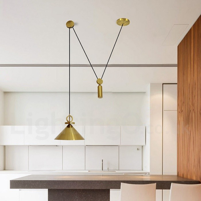 Pure Copper LED Modern / Contemporary Nordic Style Rise