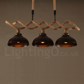 3 Light  Pendant Light Ceiling Lamp for Living Room, Study, Kitchen, Bedroom, Dining Room