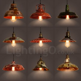 1 Light Rustic / Lodge, Retro / Vintage Pendant Light for Living Room, Study, Kitchen, Loft, Bar, Dining Room
