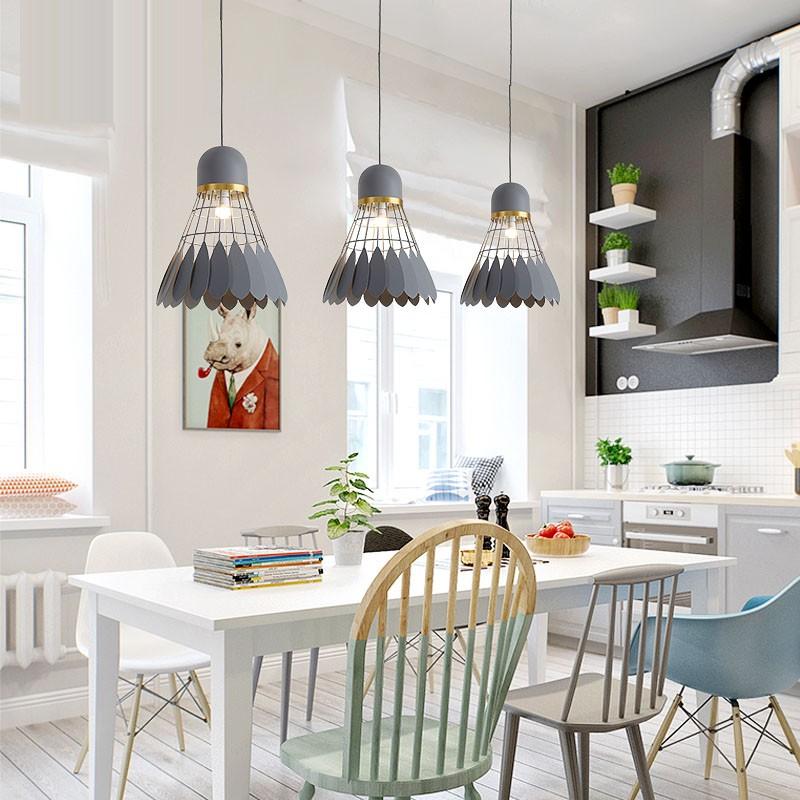Light Filled Contemporary Living Rooms: 1 Light Modern / Contemporary Pendant Light Ceiling Lamp