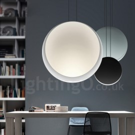 1 Light Cement Modern / Contemporary Pendant Light Ceiling Lamp for Living Room, Study, Kitchen, Bedroom, Dining Room