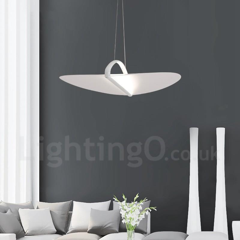 Modern contemporary 1 light acrylic pendant light with steel shade modern contemporary 1 light acrylic pendant light with steel shade for living room dinning aloadofball Images