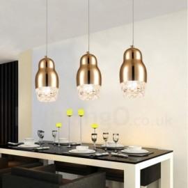 Modern / Contemporary 1 Light Aluminum Alloy Pendant Light with Acrylic Shade for Living Room, Bedroom, Corridor, Courtyard, Dinning Room, Kitchen, Bathroom, Hotel