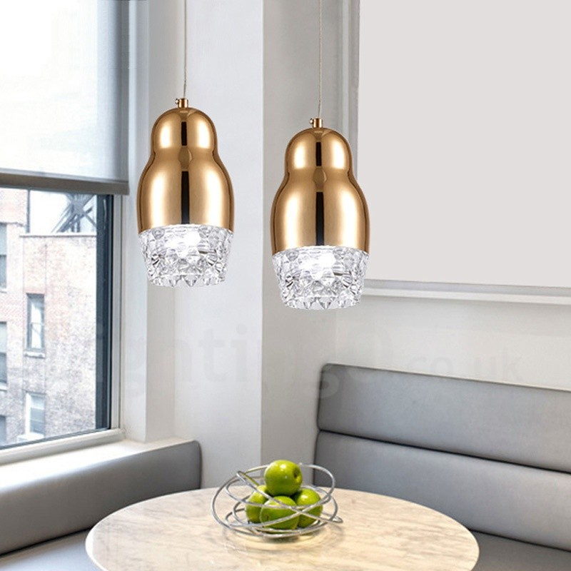 Modern / Contemporary 1 Light Aluminum Alloy Pendant Light