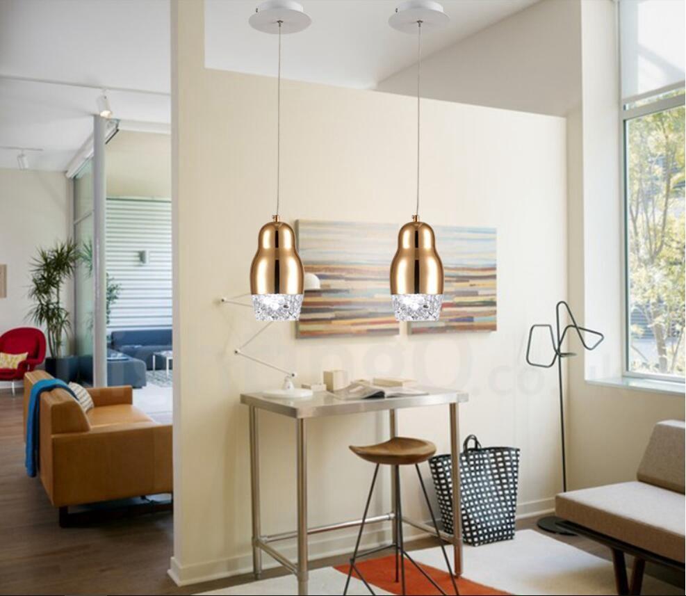 Modern / Contemporary 1 Light Aluminum Alloy Pendant Light ...