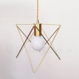 Modern / Contemporary 1 Light Steel Pendant Light with Shade for Living Room, Dinning Room, Bedroom