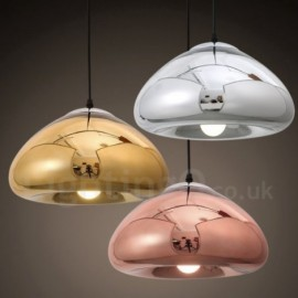 Modern / Contemporary 1 Light Glass Pendant Light with Glass Shade for Bathroom, Corridor, Living Room, Dinning Room, Kitchen, Bedroom, Hotel