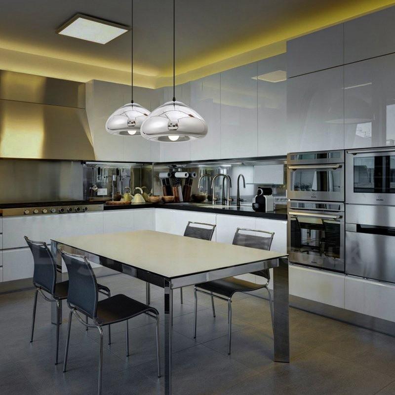 Modern / Contemporary 1 Light Glass Pendant Light with ...