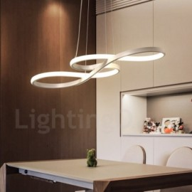 Modern / Contemporary Light Aluminum Alloy Pendant Light with Acrylic Shade for Living Room, Dinning Room, Bedroom, Hotel