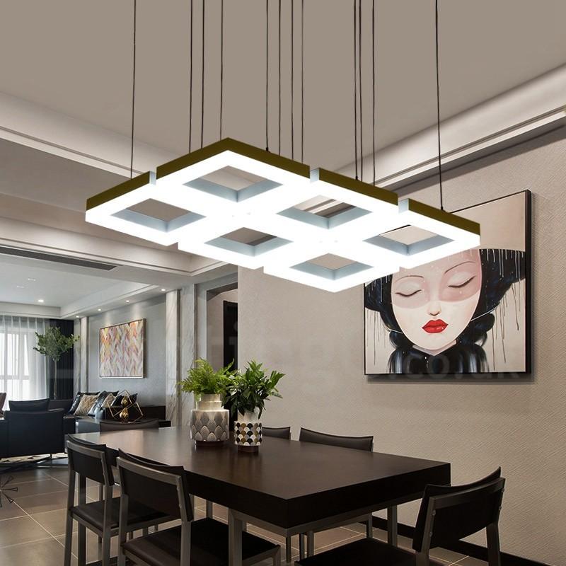 Contemporary Living Room Kitchen: Modern / Contemporary 6 Light Aluminum Alloy Pendant Light