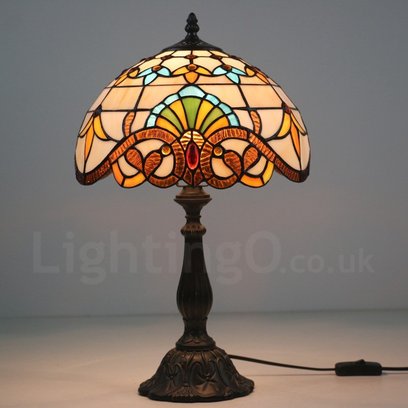 Tiffany table lamp shades uk choice image table furniture design ideas aloadofball