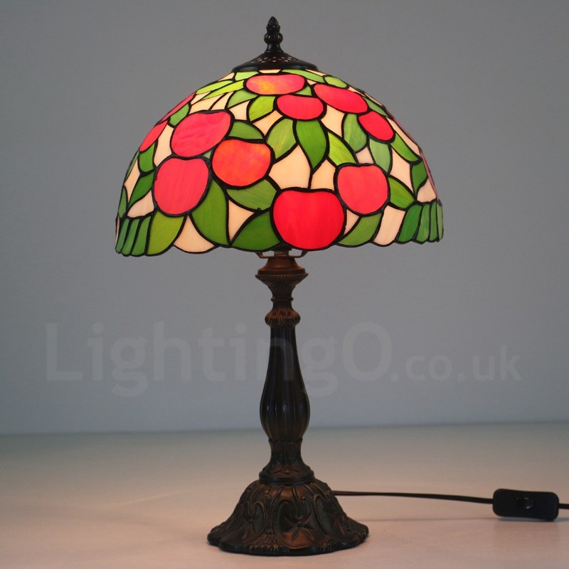 European Retro Apple Tree Pattern Lamp Shade 12 Inch
