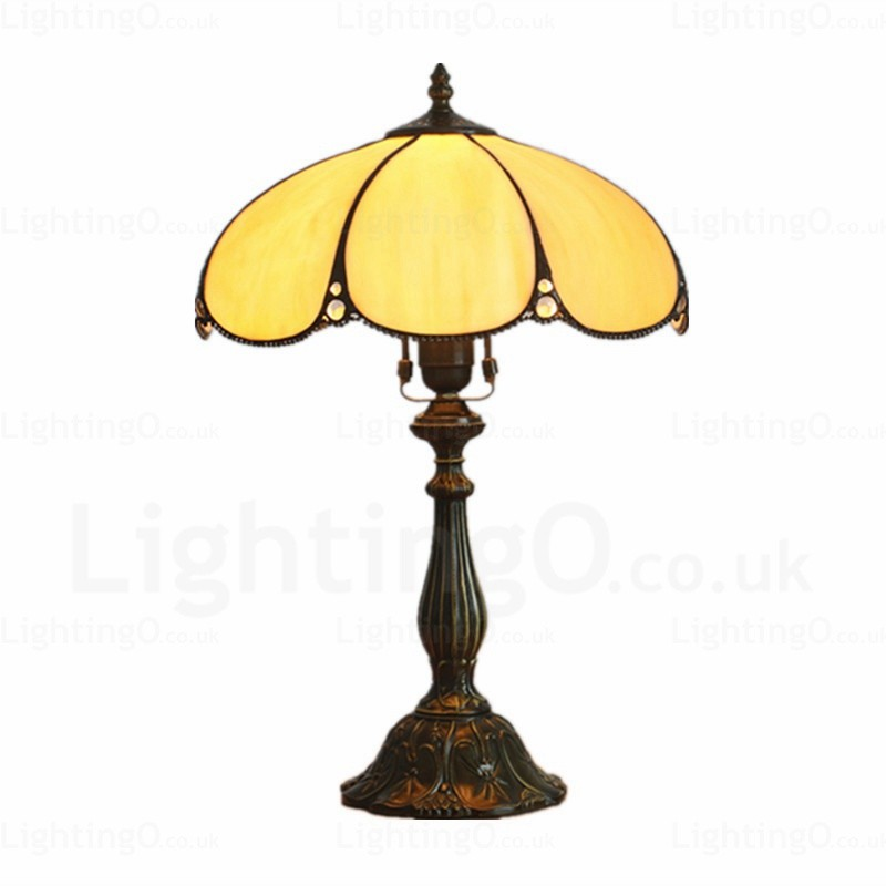 Flying saucer lamp shade traditional 12 inch tiffany desk lamp flying saucer lamp shade traditional 12 inch tiffany desk lamp living room bedroom study room aloadofball Choice Image