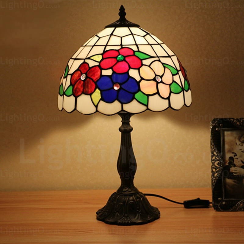 Sunflower Lamp Shade Luxury 12 Inch Tiffany Table Lamp
