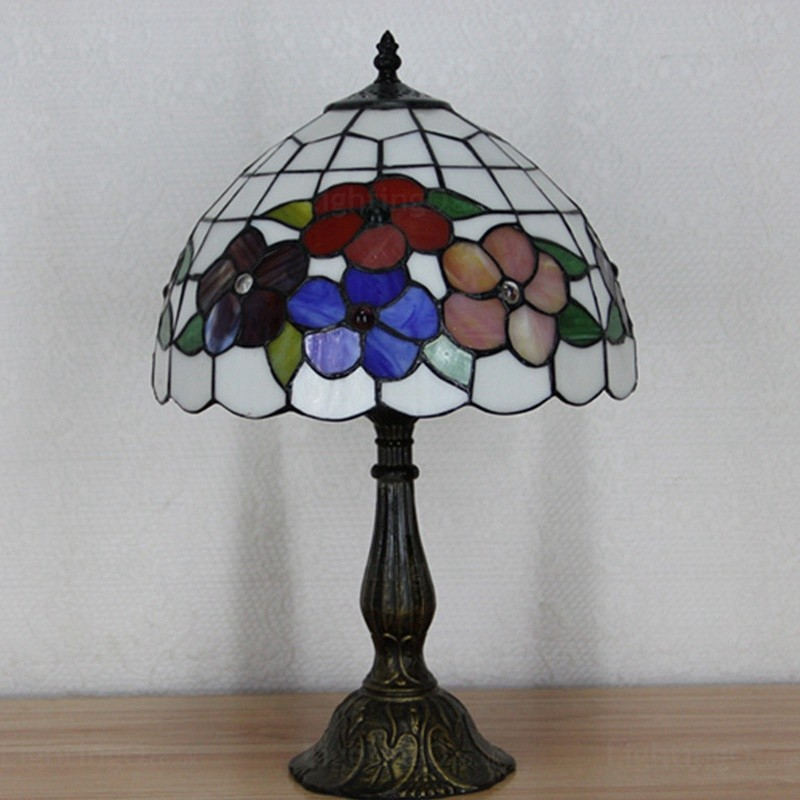 Sunflower Lamp Shade Luxury 12 Inch Tiffany Table Lamp