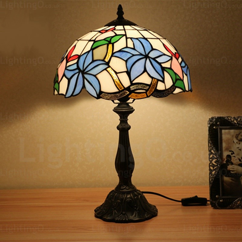 Brilliant Leaf Lamp Shade Exquisite 12 Inch Tiffany Table Lamp Living Room Bedroom Study Room Best Image Libraries Sapebelowcountryjoecom