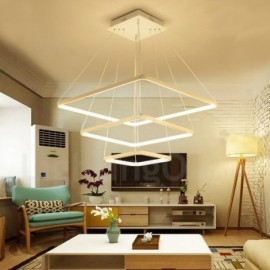 Modern / Contemporary 3 Light Aluminum Alloy Pendant Light with Acrylic Shade for Living Room, Dinning Room, Bedroom, Hotel