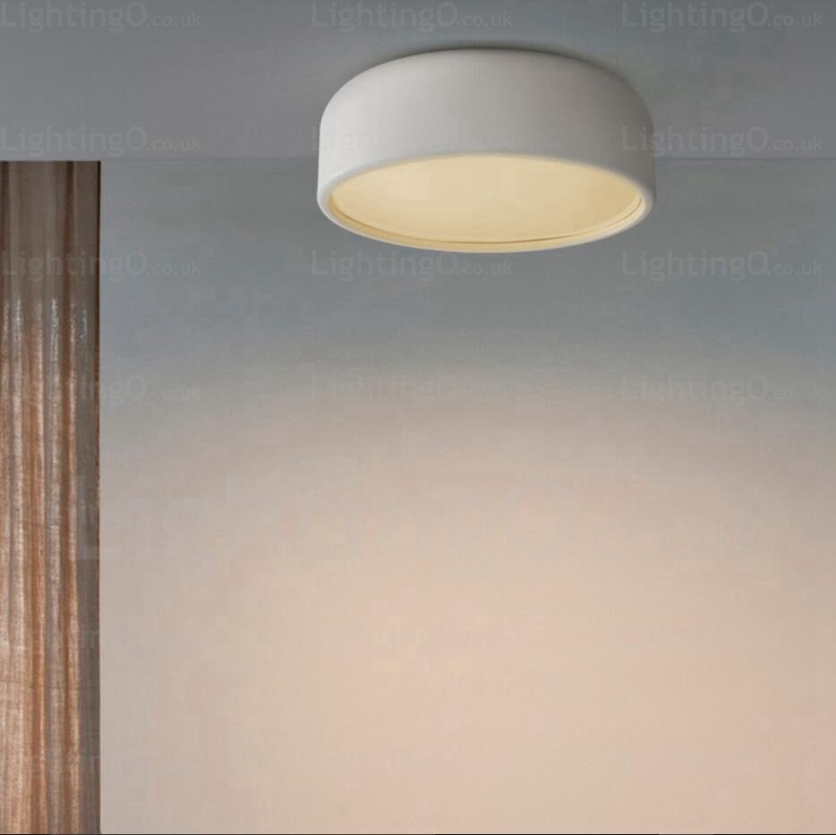 1 Light Nordic Ceiling Lights With Acrylic Shade For
