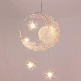 5 Light Modern/Contemporary Pendant Lights for Hallway, Living Room, Storeroom, Courtyard, Bedroom, Balcony, Hotel