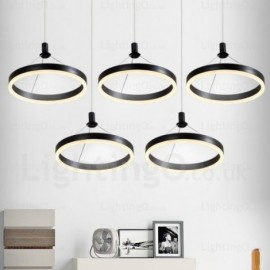 1 Light Modern/Contemporary Pendant Lights with Acrylic Shade for Living Room, Dining Room, Storeroom, Bedroom, Hotel