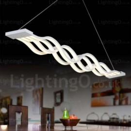 1 Light Modern/Contemporary Pendant Lights with Acrylic Shade for Living Room, Dining Room, Corridor, Bedroom, Hotel