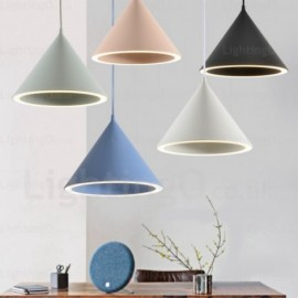 1 Light Modern/Contemporary, Nordic Pendant Lights with Acrylic Shade for Corridor, Living Room, Bedroom, Dining Room,