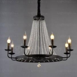 8 Light Nordic Pendant Lights for Dining Room, Bedroom, Hotel