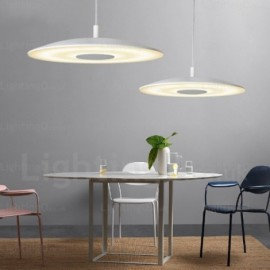 1 Light Modern/Contemporary Pendant Lights with Glass Shade for Dining Room, Bar, Cafes, Office