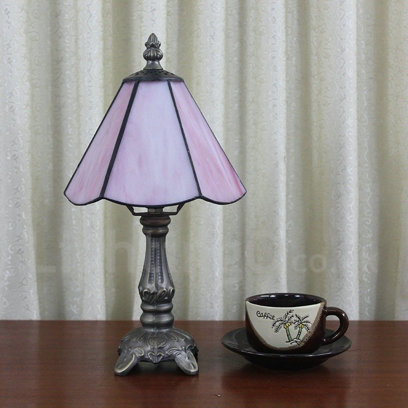 rustic table lamps living room 6inch handmade rustic retro table lamp pink lamp 19159