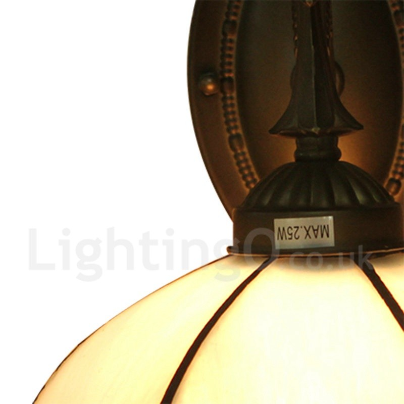 Diameter 20cm 8 inch handmade rustic retro tiffany wall light diameter 20cm 8 inch handmade rustic retro tiffany wall light silver gray shade aloadofball Images