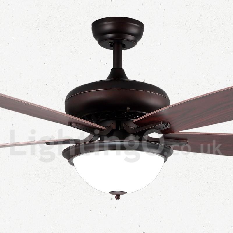 52 Quot Country Retro Rustic Lodge Vintage Ceiling Fan