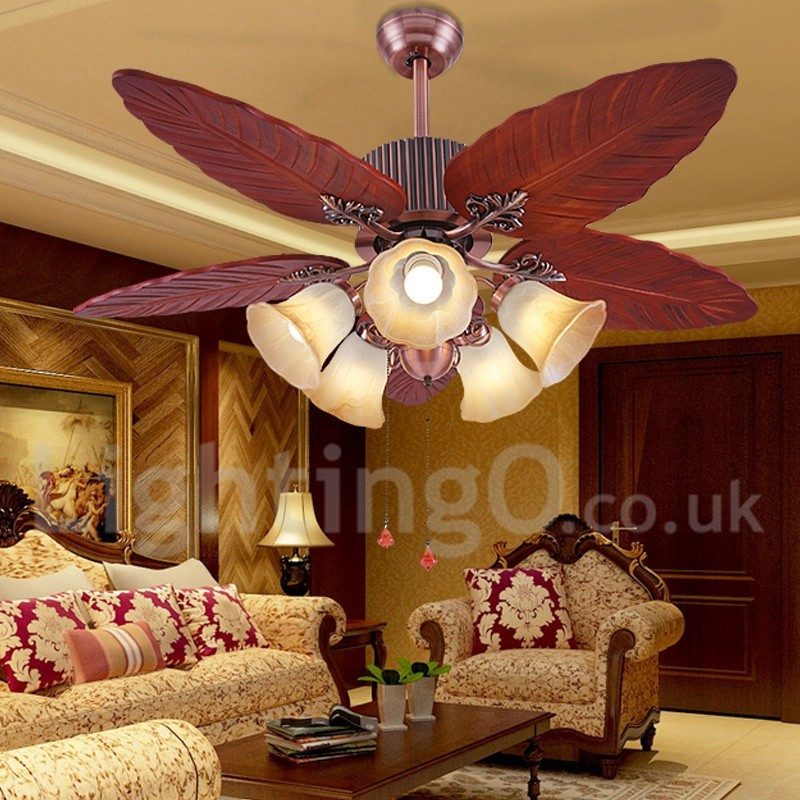 48 Quot Country Retro Rustic Lodge Vintage Ceiling Fan Lightingo Co Uk