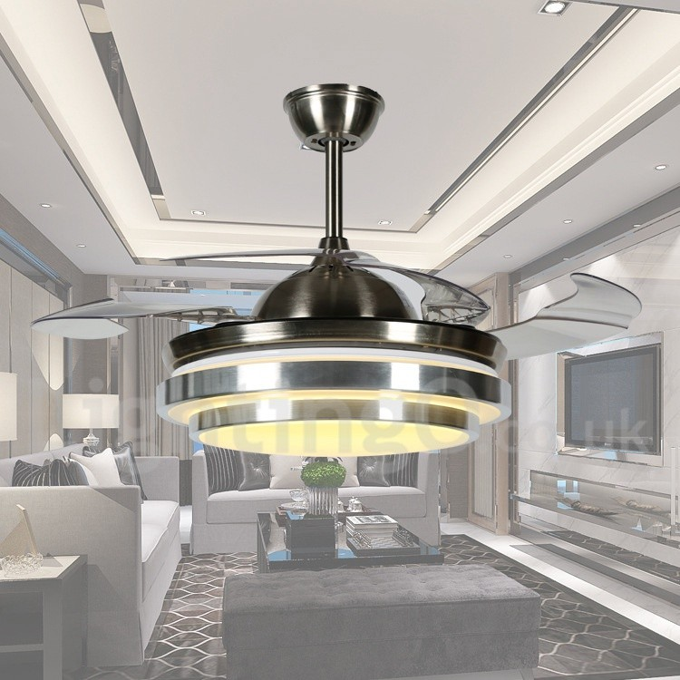 36 Quot European Style Modern Contemporary Ceiling Fan