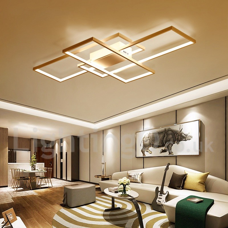 LED Modern /Comtemporary Alumilium Painting Ceiling Light