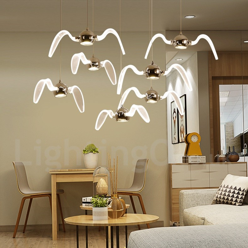 Contemporary Dining Room Chandeliers: Modern/Contemporary Lighting Living Room, Dining Room