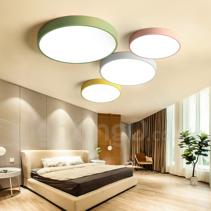 Light Filled Contemporary Living Rooms: Multi Colours Modern/Contemporary Steel Lighting Living