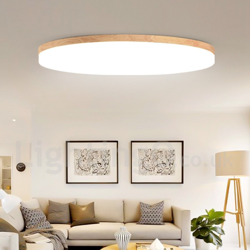 nordic round bedroom ceiling l simple modern solid wood 14193 | nordic round bedroom ceiling l simple modern solid wood living room balcony l ultra thin led ceiling l