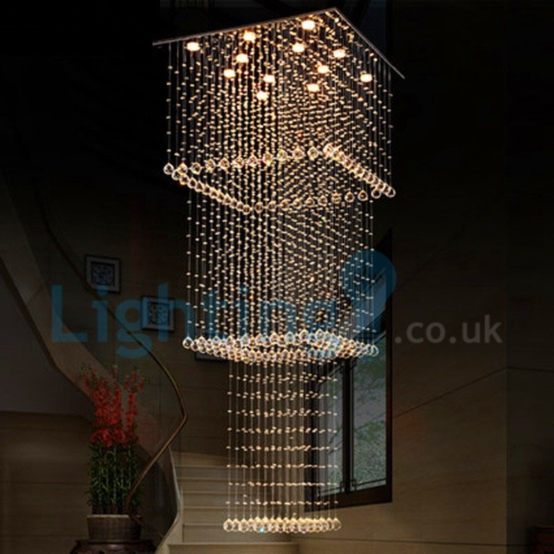 Contemporary Foyer Uk : Modern contemporary chandelier flush mount led pendant