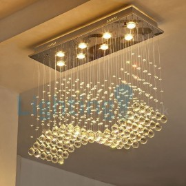 long drop lights for high ceiling rain drop crystal ceiling lights