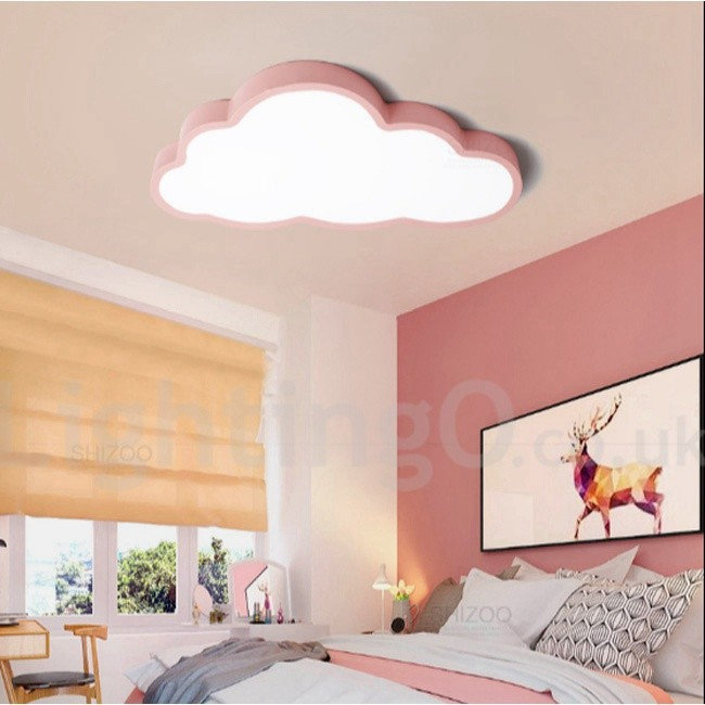 Ultra-Thin Kids Room Clouds Dimmable LED Modern / Contemporary ...